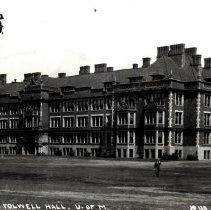 Image of Postcard - Fowell Hall, U.of Minnesota-postcard