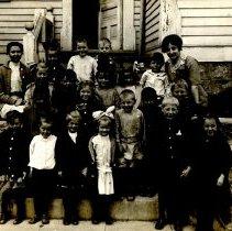 Image of Unidentified school children & teachers