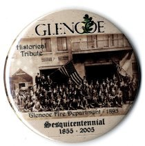 Image of Button, Promotional - Glencoe Sesquicentennial button