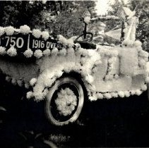 Image of Print, Photographic - 1916 Overland 750 automobile parade float
