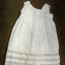Image of Underdress - White sleeveless women's underdress/slip
