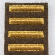 Image of Patch, Military - WWII Overseas Service patch