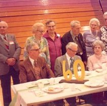 Image of Print, Photographic - Hutchinson Class of 1915 - 60th reunion