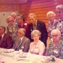 Image of Print, Photographic - 60th Reunion-Hutchinson Class of 1915
