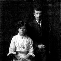 Image of Print, Photographic - Lena Wuetherich Steck & Henry Peter Steck, 19 Aug1913