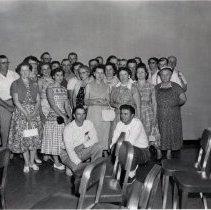 Image of Print, Photographic - Group of rural Lester Prairie, MN men & women