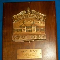 Image of Plaque, Award - 1936 first place plaque