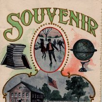 Image of Souvenir card from School Dist. #40