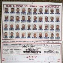 Image of 2006 Glencoe Volunteer Fire Dept. calendar