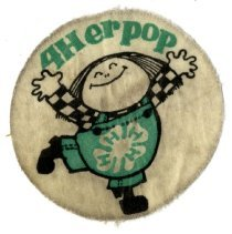 Image of Patch, Insignia - 4H patch