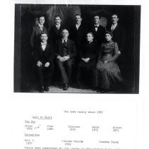 Image of Print, Photographic - Roger A. Howe Family