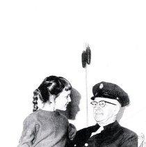 Image of Print, Photographic - 50 year fireman