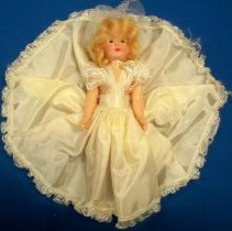 """Image of Doll - 7 1/2"""" Bride doll"""