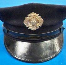 Image of Uniform, Fire - Plato fire department uniform hat