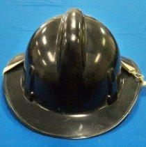 Image of Helmet, Firefighter's - Plato's F. D. firefighter's helmet