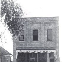 Image of Print, Photographic - Roufs Meat Market, Winsted, MN