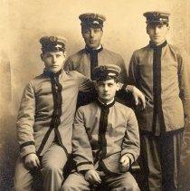 Image of Postcard - Postcard - Ferdinand Rhode & Winsted Band members