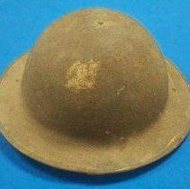 Image of Helmet, Military - World War I Army helmet