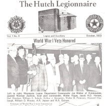 Image of Hutch Legionnaire WWI commemoration