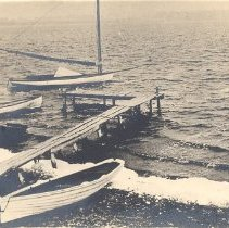 Image of Postcard - Postcard: Vollmer Family Boats