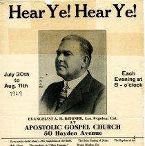 Image of Beisner poster