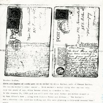 Image of Postcard sent to Alice Butler