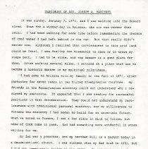 Image of Joseph A. Babinsky Testimony