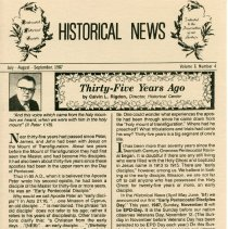 Image of Historical News Vol. 6  No. 4  page 1