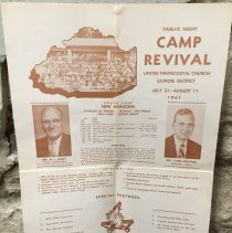 Image of Illinois District Camp Revival Poster