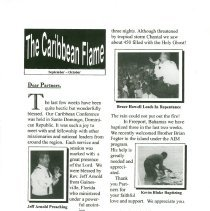 "Image of A report from ""The Caribbean Flame"""