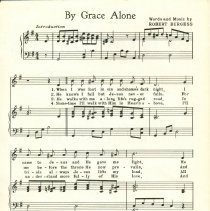 Image of By Grace Alone, page 1