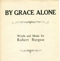 Image of By Grace Alone, front cover