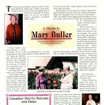 Image of A tribute to Mary Buller