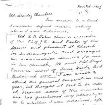 Image of Letter written by Lura Ashley