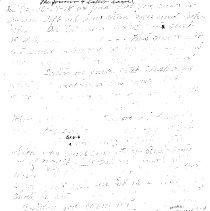 Image of Handwritten sermon by Bert Booker