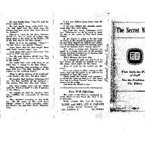 Image of Radio Sermon/Tract written by Leo R. Carver