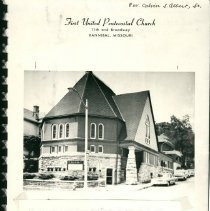 Image of Building purchased in October 1948 by Rev. Calvin Albert