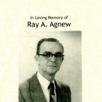 Image of In Loving Memory of Ray A. Agnew