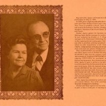 Image of Memoriam on the life of Ray and Lillie Agnew