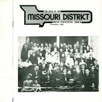 Image of Copy of The Voice of the Missouri District UPC Nov 1985 Bible School