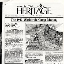 Image of The 1913 Worldwide Camp Meeting- Arroyo Seco Park, Los Angeles