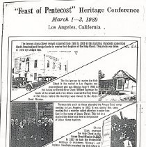 Image of Heritage Conference 1989 Glendale, California