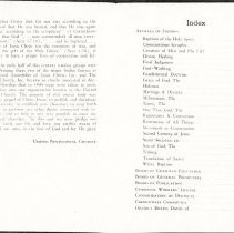 Image of Foreword- pg. 2/ Index