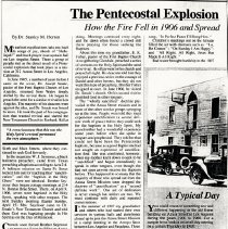 Image of The Pentecostal Explosion; How the Fire Fell ... Dr. S. Horton