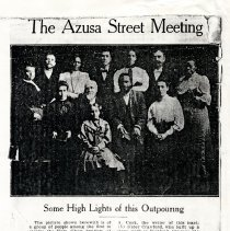 Image of Azusa Street Revival Collection - 2000.98.11