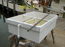 """Image of Wooden peeler float - 6-1/2'x2-1/2'x1-1/2"""""""