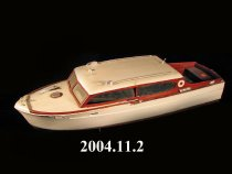 "Image of Chris Craft model ""Afton"". Built by William Gerhardt in the 1950s"
