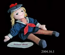 Image of A sailor doll