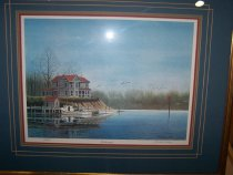 """Image of Print - """"The Homeplace"""" by Franklin Saye"""