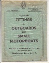 Image of Dependable Fittings for Outboards And Small Motorboats - Wilcox, Crittenden & Co., Inc.